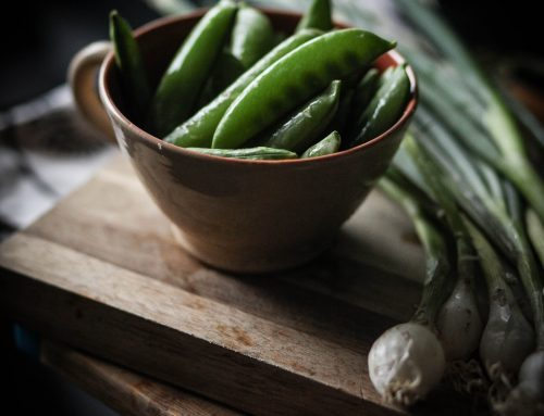Garden fresh vegetable shot | Natural light food photography Dublin